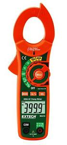 Extech Ma410t Multimeter 400a Ac True Rms Clamp Meter Ncv New