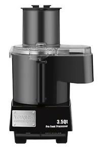 Waring Commercial Wfp14sc Batch Bowl And Continuous Food Processor With Liquiloc