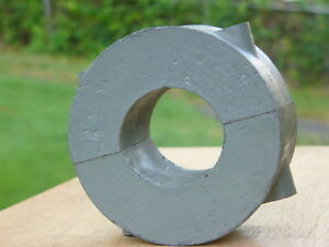 Pair Of Massive Alnico 5 Horseshoe Magnets Half round 9 1 2 Lb Pre Neodymium