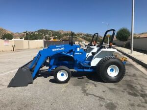 New Holland 2120 4x4 With Loader Pto 250 Hours rust Free Ex City