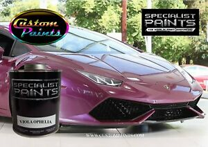 Gallon Of Lamborghini Viola Ophelia Auto Paint Automotive Hok Ppg Dupont