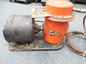 Devilbiss Tuffy Vintage Air Compressor With Packard Motor Works