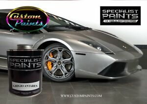 Gallon Of Lamborghini Grigio Antares Auto Paint Automotive Hok Ppg Dupont