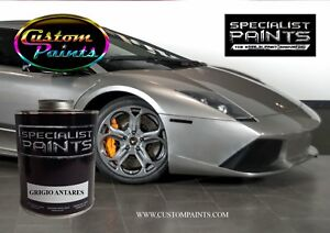 Gallon Kit Of Lamborghini Grigio Antares Paint Motorcycle Automotive Hok Ppg