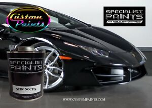 Gallon Kit Of Lamborghini Nero Noctis Paint Motorcycle Automotive Hok Ppg