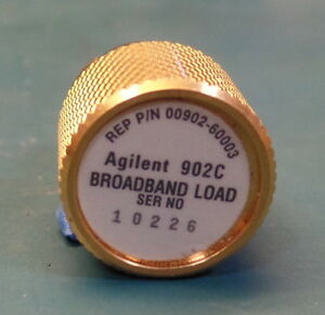 Agilent 00902 60003 902c Broadband Load 3 5mm Male