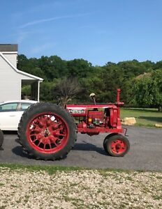 Farmall Antique Vintage Tractor F12 With Heisler Road Gear F20 F14 F30