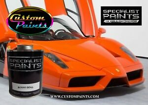 Gallon Kit Of Ferrari Rosso Dino Paint Motorcycle Automotive Hok Ppg