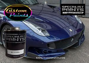 Gallon Of Ferrari Blu Scozia Auto Paint Automotive Hok Ppg Dupont