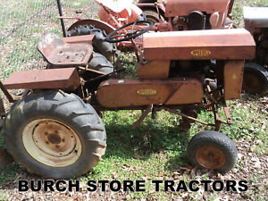 Speedex S24 Lawn Mower Tractor With Rear Cultivator Frame