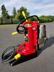 Milwaukee 1 1 4 Electro Magnetic Base Drill Press 4201 4297 1