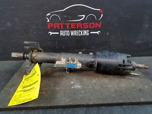 1986 Fiero Steering Column Assembly W O Steering Wheel Parts Only 7845338