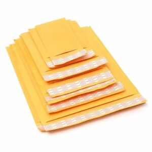 Kraft Bubble Mailers 000 00 0 1 2 3 4 5 6 7 Padded Envelopes 5 3000