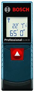 Bosch Glm 20 Compact Laser Measuring Tool 65ft