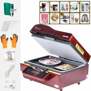 3d Vacuum Heat Press Machine Transfer Phone Case Mug Plate Sublimation Printer E