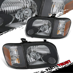 For 2005 2006 Toyota Tundra 2005 2007 Sequoia Headlights corner Signal Lamps Set