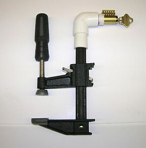 Cutaway Practice Lock Cylinder And Lock Holder For Locksmith Practice Training