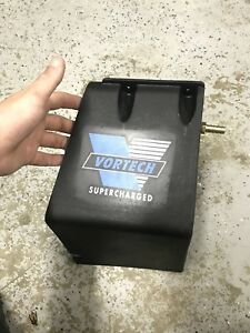 Vortech Air Filter Cover Discharge Mustang Intake Foxbody Coyote Boost