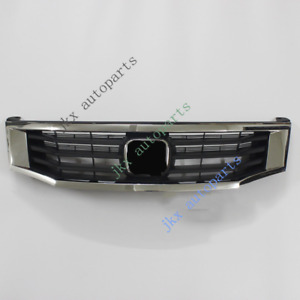 Abs Front Bumper Oem Center Grille Grill Repalce J For Honda Accord 2008 2010