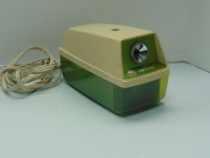 Panasonic Electric Pencil Sharpener Model Kp 8a Green