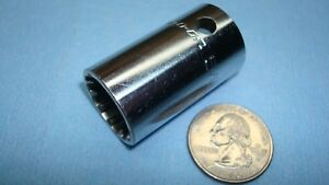 Snap On Tools 1 2 Inch Drive 5 8 Inch Shallow Spline Socket Part Number Ses201