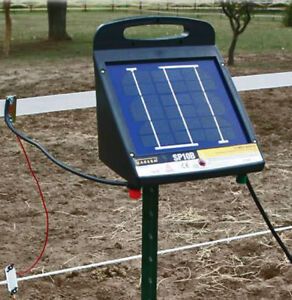 Zareba Low Impedance Solar Fence Charger Sp10b 10 Mile
