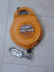 Titan By Miller Self retracting Lifeline Tr 50 Galvanized Cable 50ft 310lbs