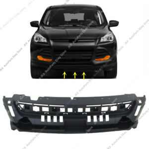 Black Front Panel Grille Mounting Panel Plastic Refit J For Ford Escape 2013 16