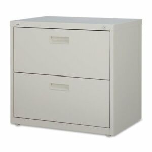 Lorell 2 drawer Lateral File 30 By 18 5 8 By 28 1 8 inch Putty