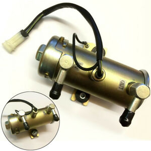 Electric Oil Fuel Pump 12v Diesel Petrol Low Pressure Inline 140mm Approx Water