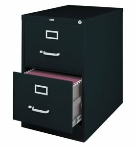 Lorell 2 drawer Vertical File Legal 18 By 26 1 2 By 28 3 8 inch Black