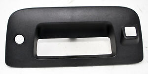 Gm Oem Tail Gate Tailgate Hatch handle Bezel 22755304