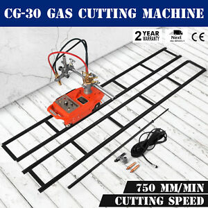 Torch Track Burner Cg 30 Gas Cutting Machine 110v Metalworking Semi automatic