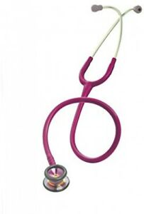 3m Littmann Classic Ii Infant Stethoscope Rainbow finish Chestpiece Raspberry