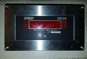 Doran Ds100 Digital Weight Indicator Scale