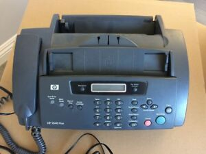 Hp 1040 Inkjet Fax Machine W built in Telephone Handset