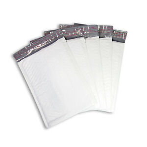 2 8 5x12 Poly Bubble Mailers Self Seal Envelopes Padded White 8 5x11 5 2000