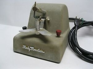 Vintage Rocky Mountain 30 Denta weld Orthodontics Spot Welder