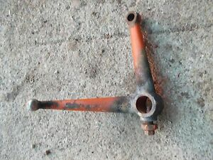 1939 Allis Chalmers B Tractor Main Steering Spindle Control Top Dual Bracket