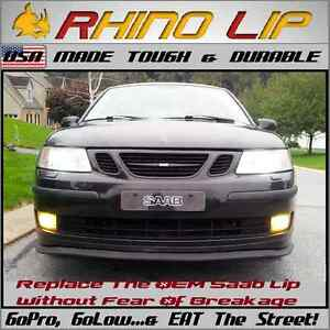 Saab Better Than Oem Rhinolip Flex Front Bumper Chin Lip Splitter Spoiler Trim