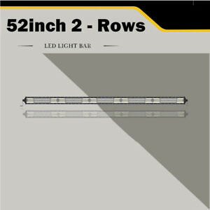 Cree 42inch 2rows Led Work Light Bar Spot Flood Combo 2176w Driving Lamp 40 44