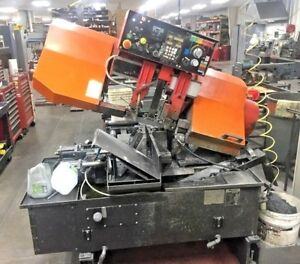 Amada Hfa250w 10 X 10 Horizontal Automatic Band Saw Year 1991