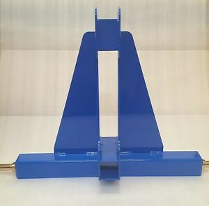 3 point Receiver Hitch blue