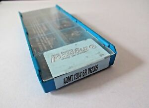 lot Of 10 Ingersoll Aomt 120416r In2005 Carbide Inserts