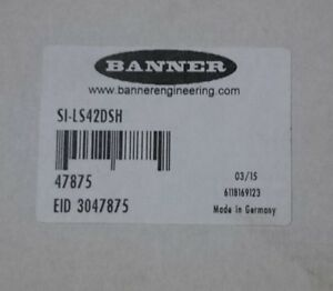 New In Box Banner Si ls42dsh 47875 Safety Switch Surplus Stock