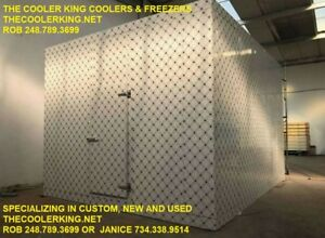 Custom Walk in Freezer 60 w X 20 d X 10 h Butcher Bar Bakery Restaurant Club