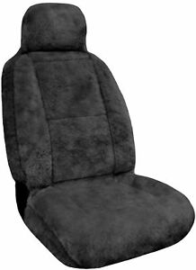 Eurow Sheepskin Seat Cover New Xl Design Premium Pelt Gray