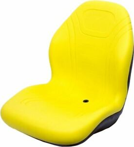 John Deere Yellow Seat Fits 3120 3520 4310 4510 4610 4720 Replaces Oem Lva12909