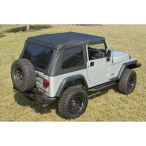 Soft Top Windshield Channel For Jeep Wrangler 1997 2006 13750 35 13308 04