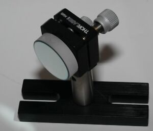 Thorlabs Kms 1 x1 kinematic Mirror Mount With 1 5 Post base Mirror Thor Labs